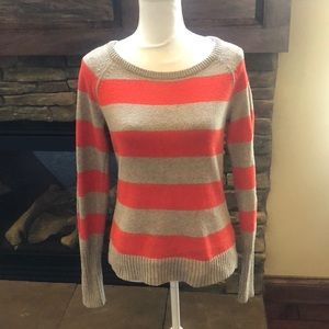 Kenzie long sleeved striped sweater size M